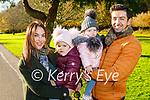 Denise Healy, Lucia, Lilah Healy and Aidan O'Mahoney enjoying a stroll in Killarney National Park on Saturday.