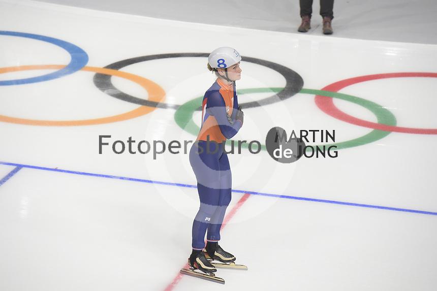 OLYMPIC GAMES: PYEONGCHANG: 24-02-2018, Gangneung Oval, Long Track,  Mass Start Ladies, Irene Schouten (NED), ©photo Martin de Jong