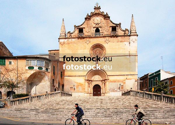 Parish church Sant Miguel in Felanitx, Majorca, Spain<br /> <br /> Iglesia parroquial Sant Miguel de Felanitx, Mallorca, España<br /> <br /> Pfarrkirche San Miguel in Felanitx, Mallorca, Spanien<br /> <br /> 3008 x 2000 px