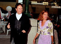 Montreal (Qc) CANADA -August 26,1998 File Photo-<br /> Robert Lepage , Anne-Marie Cadieux<br /> present Nô <br /> <br /> , at 1999 World Film Festival Opening<br /> -Photo (c) Pierre Roussel - Images Distribution