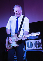 17 DEC 2014 - STOWMARKET, GBR - Dr. Feelgood's Steve Walwyn on lead guitar performing at the John Peel Centre for Creative Arts in Stowmarket, Suffolk, Great Britain (PHOTO COPYRIGHT © 2014 NIGEL FARROW, ALL RIGHTS RESERVED)