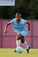 Rosana (11) of Sky Blue FC. Sky Blue FC and the Washington Freedom played to a 4-4 tie during a Women's Professional Soccer match at Yurcak Field in Piscataway, NJ, on July 15, 2009.