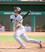 Pete Kozma - Surprise Rafters - 2010 Arizona Fall League.Photo by:  Bill Mitchell/Four Seam Images..