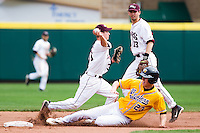 Travis McComack (31) of the Missouri State Bears during a game vs. the Western Illinois Leathernecks at Hammons Field in Springfield, Missouri;  March 20, 2011.  Photo By David Welker/Four Seam Images