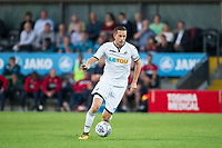 Gylfi Sigurosson of Swansea City in action during the 2017/18 Pre Season Friendly match between Barnet and Swansea City at The Hive, London, England on 12 July 2017. Photo by Andy Rowland.