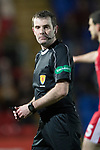 St Johnstone v Aberdeen…13.12.17…  McDiarmid Park…  SPFL<br />Referee Alan Muir<br />Picture by Graeme Hart. <br />Copyright Perthshire Picture Agency<br />Tel: 01738 623350  Mobile: 07990 594431