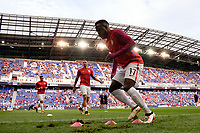Harrison, NJ - Friday Sept. 01, 2017: Jozy Altidore prior to a 2017 FIFA World Cup Qualifier between the United States (USA) and Costa Rica (CRC) at Red Bull Arena.