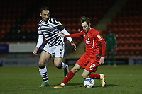 Dan Kemp of Leyton Orient and Kane Wilson of Forest Green Rovers during Leyton Orient vs Forest Green Rovers, Sky Bet EFL League 2 Football at The Breyer Group Stadium on 23rd January 2021
