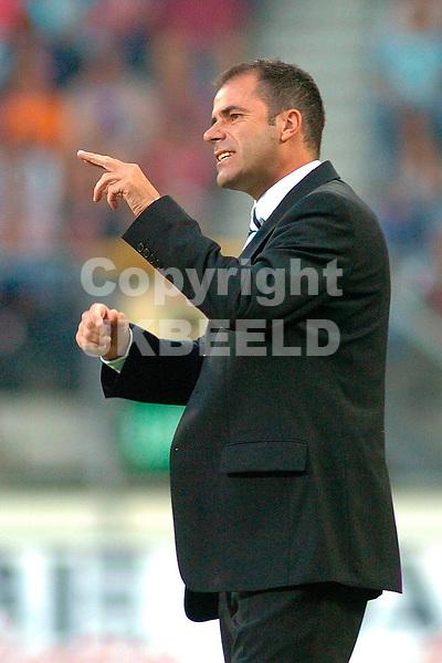 heerenveen - heracles eredivisie seizoen 2005-2006 10-09-2005 trainer peter bosz van heracles
