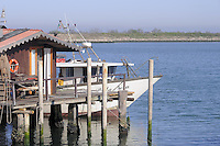 - Pila, comune Porto Tolle, nel delta del fiume Po in provincia di Rovigo, porto peschereccio....- Pila, municipality of Porto Tolle, delta of river Po in the province of Rovigo, the fishing port