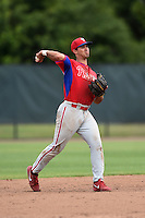 Philadelphia Phillies Harold Martinez (24) during a minor league spring training intrasquad game on March 27, 2015 at the Carpenter Complex in Clearwater, Florida.  (Mike Janes/Four Seam Images)