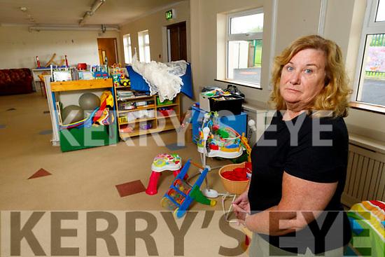 Bernie O'Carroll, Manager of the Shanakill FRC PreSchool that has closed.