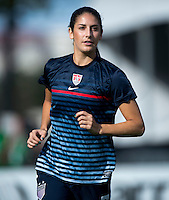 Yael Averbuch.  The USWNT defeated Brazil, 4-1, at an international friendly at the Florida Citrus Bowl in Orlando, FL.