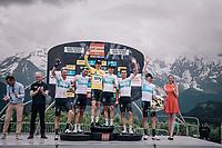 Geraint Thomas (GBR/SKY) wins the 70th Dauphiné & Team SKY was the strongest team <br /> <br /> Stage 7: Moûtiers > Saint-Gervais Mont Blanc (129km)<br /> 70th Critérium du Dauphiné 2018 (2.UWT)