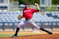 FCL Twins pitcher Sean Gilmartin (41) during a game against the FCL Rays on July 20, 2021 at Charlotte Sports Park in Port Charlotte, Florida.  (Mike Janes/Four Seam Images)