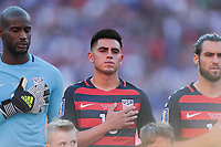 Cleveland, OH - Saturday July 15, 2017: Joe Corona during a 2017 Gold Cup match between the men's national teams of the United States (USA) and Nicaragua (NCA) at FirstEnergy Stadium.