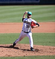 Slade Cecconi - Salt River Rafters - 2021 Arizona Fall League (Bill Mitchell)
