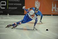 SPEEDSKATING: DORDRECHT: 05-03-2021, ISU World Short Track Speedskating Championships, Heats 500m Men, Konstantin Ivliev (RSU), ©photo Martin de Jong