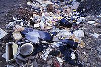 Landfill. Nevada USA.