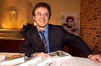 Stephane Laporte, Decembre 2003<br /> <br /> PHOTO : Agence Quebec Presse