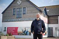 BNPS.co.uk (01202) 558833 <br /> Pic: Zachary Culpin/BNPS<br /> <br /> Chief Operating Officer, David Lockyer at the hatchery in Padstow<br /> <br /> Hatch of the day...<br /> <br /> A British lobster hatchery is celebrating sending over 275,000 hatchlings back into the wild having given them a better chance of survival.<br /> <br /> The National Lobster Hatchery has spent the last 21 years nursing baby lobsters through their vulnerable life stages before releasing back into the wild.<br /> <br /> The pandemic has hit release numbers, with the hatchery running on skeleton staff due to Covid restrictions, but they have still managed to release thousands in the last year.