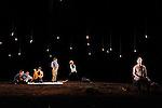 LE DERNIER TESTAMENT DE MELANIE LAURENTD'après Le Dernier Testament de Ben Zion Avrohom de James FreyAdaptation Mélanie Laurent et Charlotte FarcetMise en scène Mélanie LaurentAssistante à la mise en scène Amélie WendlingDramaturgie Charlotte FarcetScénographie Marc Lainé et Stephan ZimmerliCréation Lumières Philippe BerthoméChorégraphie Arthur PeroleMusiques Marc Chouarain en collaboration avec Mélanie LaurentCostumes Béatrice RionMaquillage et coiffure Heidi BaumbergerVidéo Renaud VerceyRéalisation et régie son Maxime ImbertAccessoires Lionel ScreveRégie générale Karl GobynRégie lumière Pauline MouchelArrangement choeur Jérôme BillyTraduction anglaise et régie surtitre Mike SensÉquipe de tournage Alexandre Leglise (Chef opérateur), Raphaël Dougé (Assistant caméra), Antoine Roux (Chef électro), Grégory Loffredo (Cascadeur)Avec Olindo Bolzan, Stéphane Facco, Gaël Kamilindi, Lou de Lââge, Jocelyn Lagarrigue, Nancy Nkusi, Morgan PerezCréation au Théâtre du Gymnase le 20 septembre 2016Compagnie : Cadre : Date : 25/01/2017Lieu : Théâtre de ChaillotVille : Paris© Laurent Paillier / photosdedanse.com