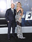 Jason Statham and Rosie Huntington-Whiteley<br />  attends The Lionsgate L.A. Premiere of The Expendables 3 held at The TCL Chinese Theatre in Hollywood, California on August 11,2014                                                                               © 2014 Hollywood Press Agency
