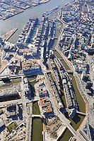 Hafencity und Hamburg: EUROPA, DEUTSCHLAND, HAMBURG, (EUROPE, GERMANY), 19.03.2009: Hafencity, Hafen, City, Hamburg, Baustelle,  Hochbau, Bebauung,  Stadtplanung,  Planung, Buero, Wohn, Haus,  Bau, Konjunktur, Uebersicht, Perlenkette, Elbphilharmonie, Speicherstadt,  am Tag, am Tage, am Tage Tag tagsueber, Bauarbeit, Bauarbeiten, Bauprojekt, Bauprojekte, Baustelle, Baustellen,  Elbe, Elbphilharmonie, Elbverlauf, Grasbrookhafen, Haefen, Hafen, Hafen City HafenCity, Hamburger, Hamburger Hafen, Hanseatic Trade Center, HTC, Kaiserhoeft, Kaispeicher A, Kehrwiederspitze, Innenstadt, Neustadt, Altstadt, Luftaufnahme, Luftaufnahmen, Luftbild, Luftbilder, Luftfoto, Luftfotos, Luftphoto, Luftphotos, Norderelbe, Speicherstadt, Ueberseequartier, Vogelperspektive, Vogelperspektiven, Aufwind-Luftbilder, Luftbild, Luftaufname, Luftansicht.c o p y r i g h t : A U F W I N D - L U F T B I L D E R . de.G e r t r u d - B a e u m e r - S t i e g 1 0 2, .2 1 0 3 5 H a m b u r g , G e r m a n y.P h o n e + 4 9 (0) 1 7 1 - 6 8 6 6 0 6 9 .E m a i l H w e i 1 @ a o l . c o m.w w w . a u f w i n d - l u f t b i l d e r . d e.K o n t o : P o s t b a n k H a m b u r g .B l z : 2 0 0 1 0 0 2 0 .K o n t o : 5 8 3 6 5 7 2 0 9.V e r o e f f e n t l i c h u n g  n u r  m i t  H o n o r a r  n a c h M F M, N a m e n s n e n n u n g  u n d B e l e g e x e m p l a r !.