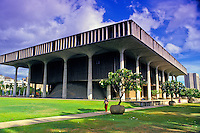 Hawaii State Capitol in downtown Honolulu