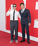 Psy and Byung-hun Lee at The Summit Entertainment L.A. Premiere of RED 2 held at Westwood Village in Westwood, California on July 11,2013                                                                   Copyright 2013 Hollywood Press Agency