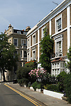 Holland street. The Royal Borough of Kensington and Chelsea London W8. England. 2006.