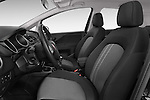Front seat view of a 2014 Fiat PUNTO SPORTLINE 5 Door Hatchback 2WD Front Seat car photos