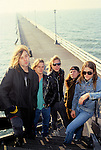 Various portrait sessions of the rock band, Flotsam & Jetsam