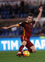 Calcio, Serie A: Roma vs Milan. Roma, stadio Olimpico, 9 gennaio 2016.<br /> Roma's Miralem Pjanic in action during the Italian Serie A football match between Roma and Milan at Rome's Olympic stadium, 9 January 2016.<br /> UPDATE IMAGES PRESS/Isabella Bonotto