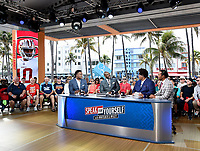 MIAMI BEACH, FL - JANUARY 29: Speak for Yourself at the Fox Sports South Beach studio during Super Bowl LIV week on January 29, 2020 in Miami Beach, Florida. (Photo by Frank Micelotta/Fox Sports/PictureGroup)