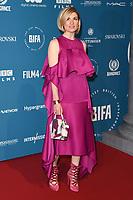 Jodie Whittaker<br /> arriving for the British Independent Film Awards 2018 at Old Billingsgate, London<br /> <br /> ©Ash Knotek  D3463  02/12/2018