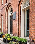The Charles Street Meeting House on Beacon Hill, Boston, Massachusetts, USA