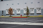 Loading docks are sequentially numbered at an  Amazon.com Inc. delivery station, during the company's two-day Prime Day sale, on Tuesday, Oct. 13, 2020 in Newark, NJ. Photograph by Michael Nagle