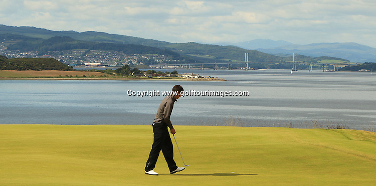 Jack McDonald (SCO) during the third round of the 2012 Aberdeen Asset Management Scottish Open being played over the links at Castle Stuart, Inverness, Scotland from 12th to 15th July 2012:  Stuart Adams www.golftourimages.com:14th July 2012