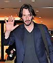 Keanu Reeves departs from Narita Airport in Japan
