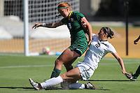 BERKELEY, CA - September 16, 2016: Cal Bears Women's Soccer team vs. the USF Dons at Goldman Field. Final score, Cal Bears 4, USF Dons 1.
