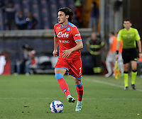 23rd September 2021; G.Ferraris Stadium, Genoa, Italy; Serie A football, Sampdoria versus Napoli: <br />  Eljif Elmas of Napoli