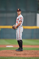 Altoona Curve pitcher Blake Cederlind (35) during an Eastern League game against the Erie SeaWolves on June 5, 2019 at UPMC Park in Erie, Pennsylvania.  Altoona defeated Erie 6-2.  (Mike Janes/Four Seam Images)