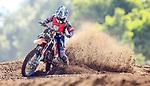 Aidan Hall, 12-13 years 85cc. New Zealand Motocross Age Group Nationals, TECT All Terrain Park, Bay of Plenty, Sunday 7 February 2021. Photo: Simon Watts/www.bwmedia.co.nz