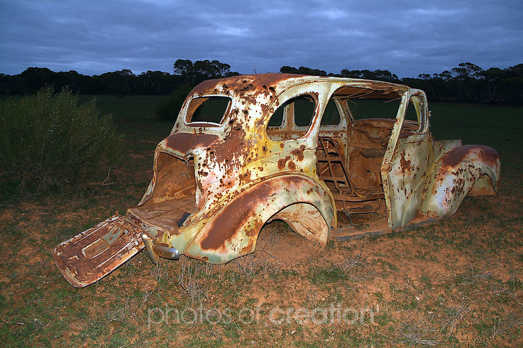 I've seem better days. Old Wreck in the outback.
