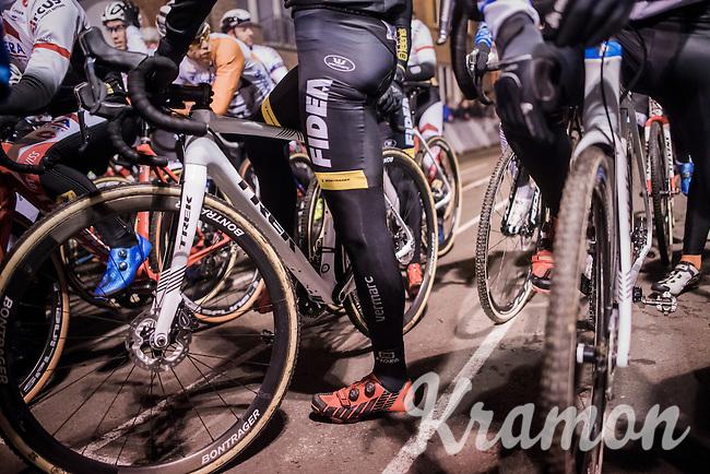 start line<br /> <br /> Elite Men's race<br /> Superprestige Diegem 2016