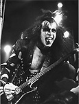 Kiss 1976 Gene Simmons  ..© Chris Walter..