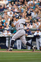 July 5, 2008: The Detroit Tigers' Miguel Cabrera at-bat during a game against the Seattle Mariners at Safeco Field in Seattle, Washington.