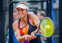 Amstelveen, Netherlands, 7 Juli, 2021, National Tennis Center, NTC, Amstelveen Womans Open, I Pek Oz (TUR)<br /> Photo: Henk Koster/tennisimages.com