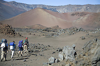 Hiking/camping in the crater of Haleakala National Park